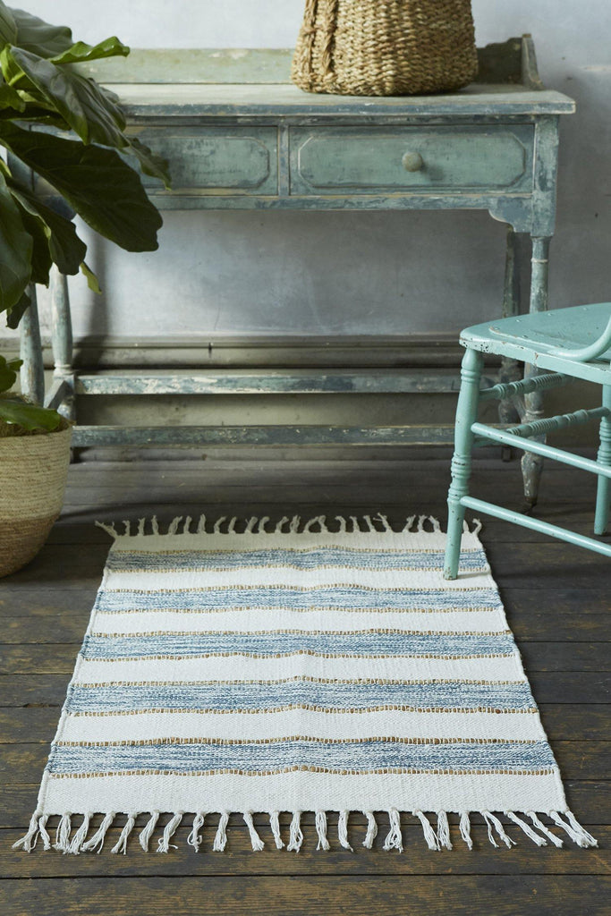 Natural Elegance Lapis Accent Rug - Patina Vie