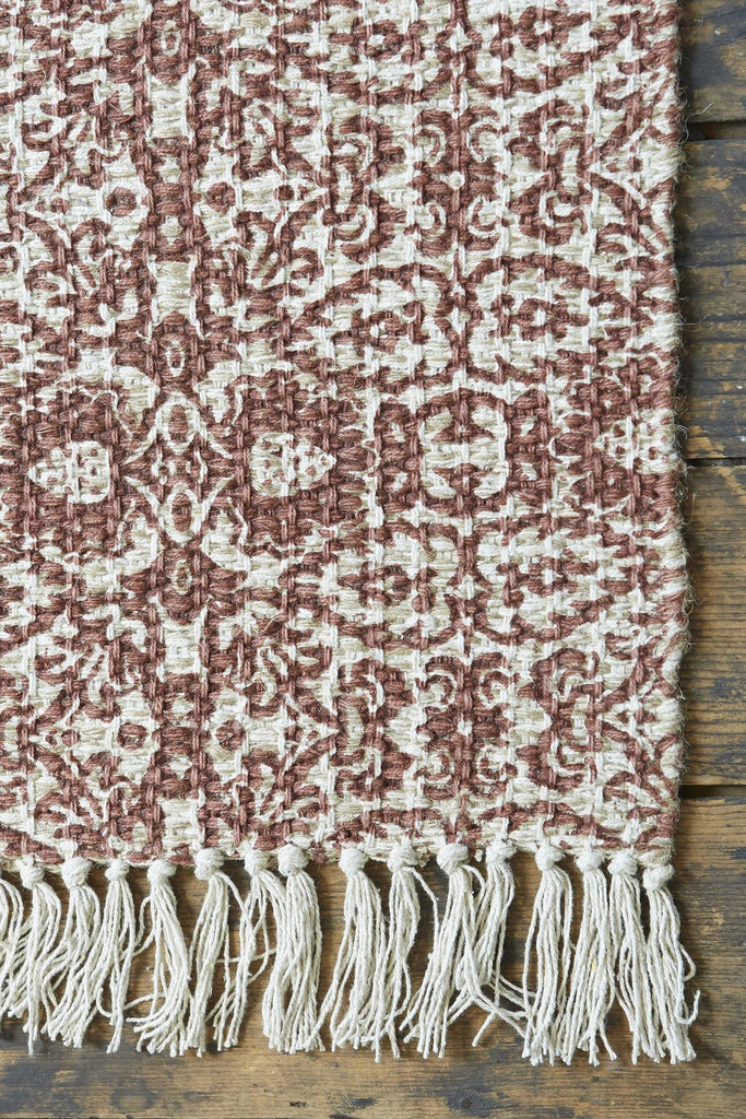 Asir Terracotta Accent Rug