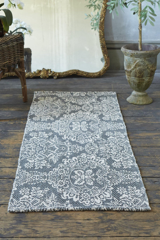 Marquis Grey Accent Rug - Patina Vie