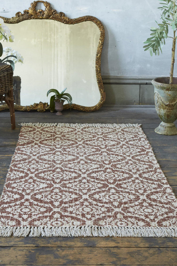 Abby Terracotta Accent Rug - Patina Vie
