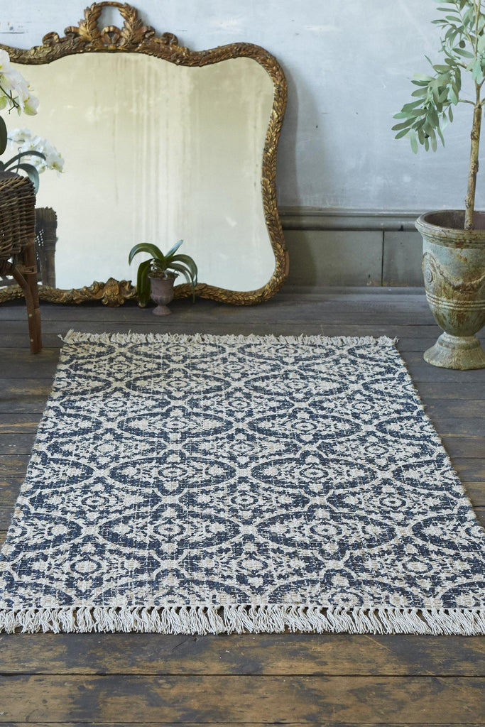 Abby Navy Accent Rug