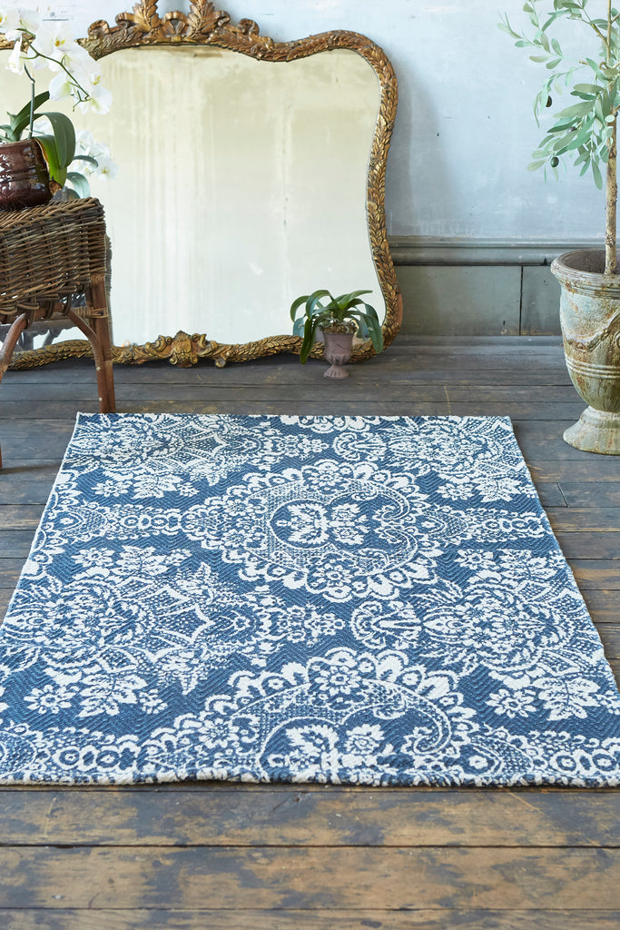 Marquis Blue Accent Rug