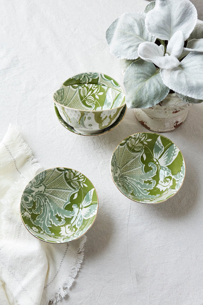 Patina Vie Everleigh Green Cereal Bowl