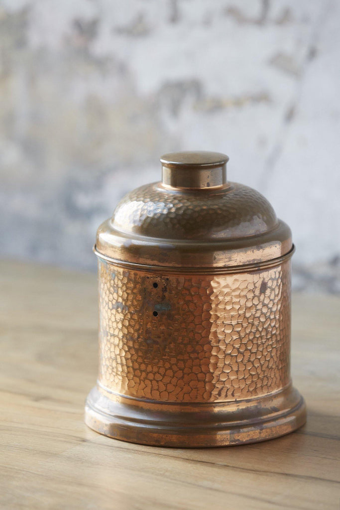Patina Vie Vintage Hammered Copper Humidor