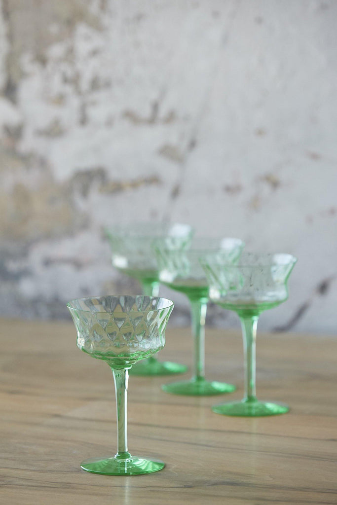 Patina Vie Vintage Mint Stems, Set of 4