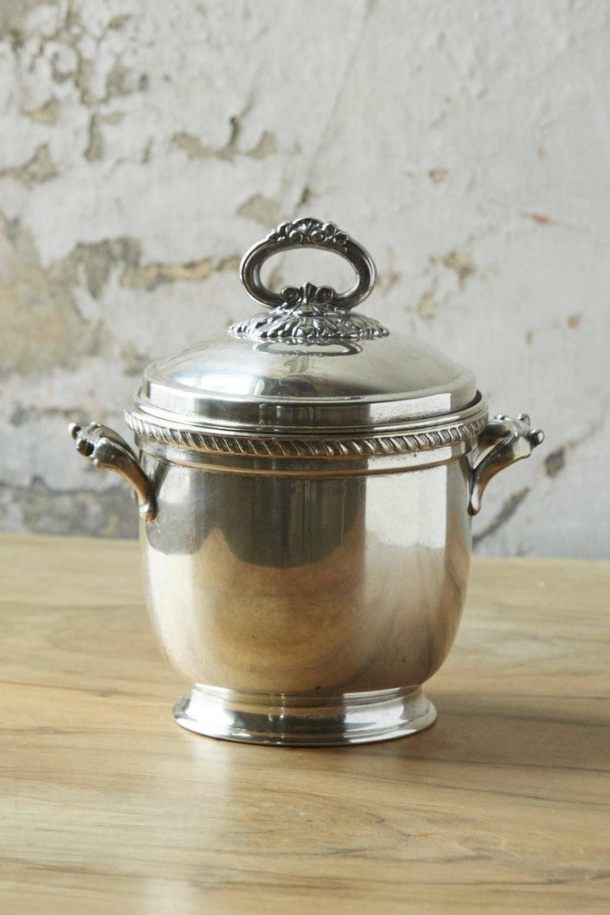 Patina Vie Vintage Silverplate Ice Bucket