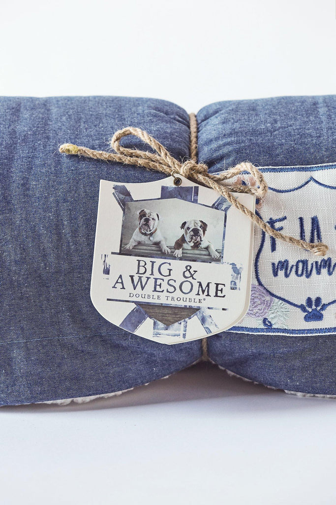 FUR MAMA Throw Blanket - Lilac