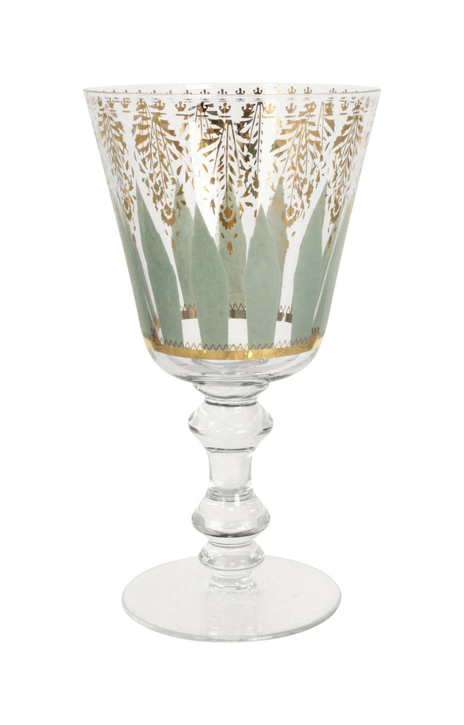 Patina Vie Aquarius Goblets, S/4