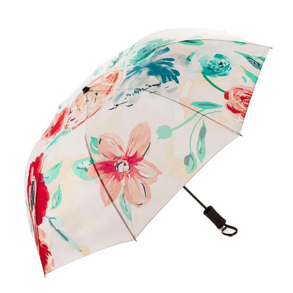 Patina Vie Pink Blooms Umbrella