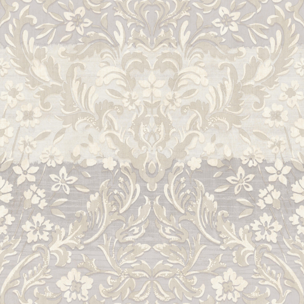 Patina Vie Zara Damask Wallpaper - Lilac