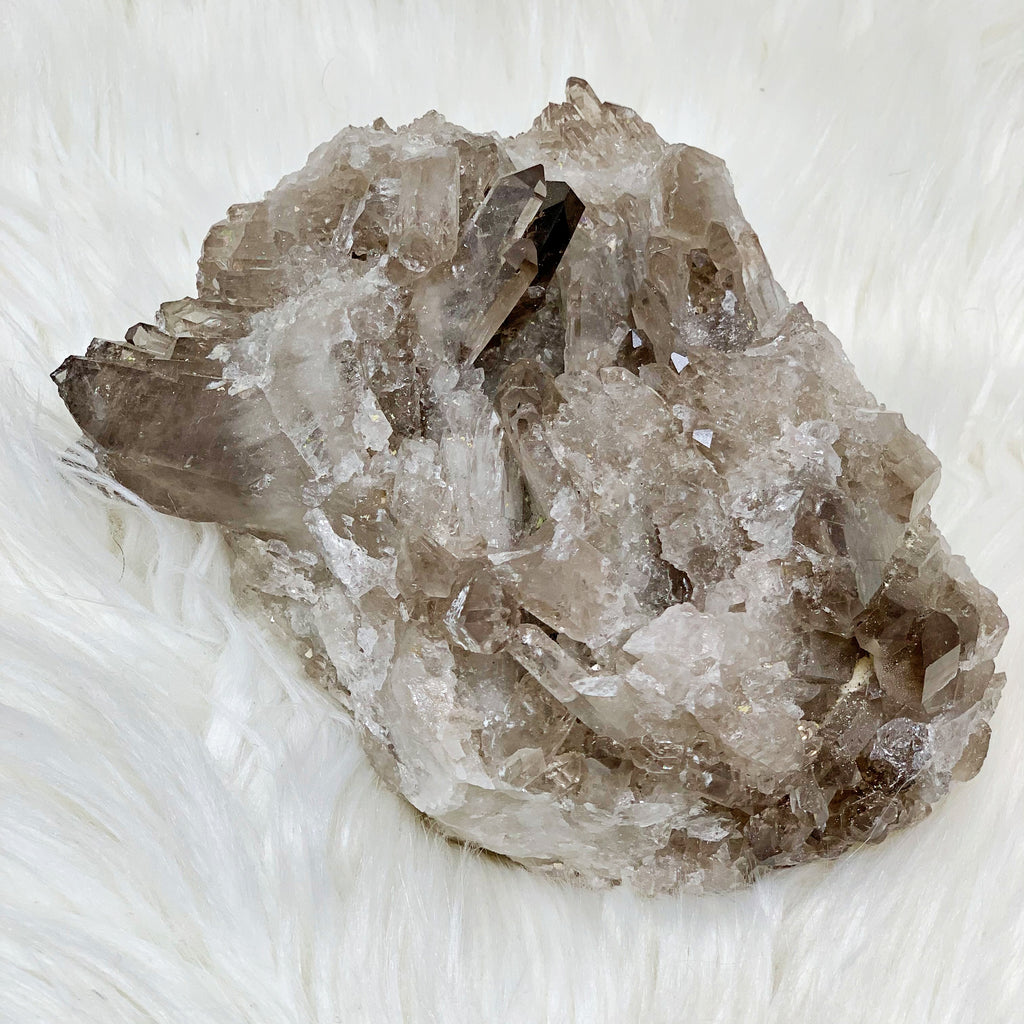 Smoky Quartz Crystal Cluster