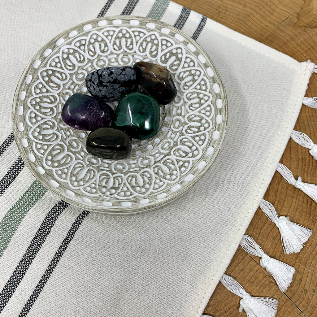 Capricorn Tumbled Crystal Set