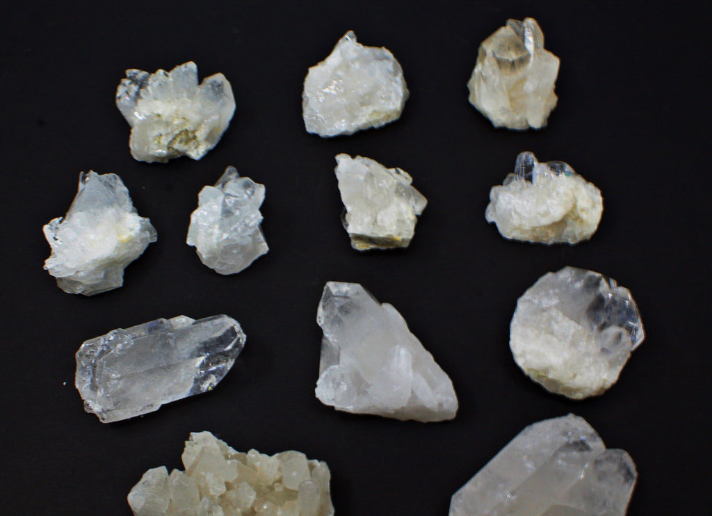 Clear Quartz Cluster brazilian raw crystal geode