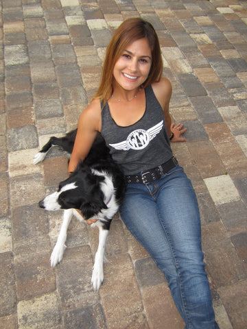 Women's Wings Logo Tank