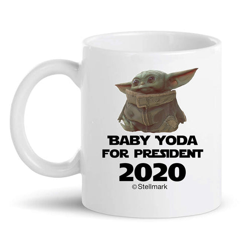 Baby Yoda For President 2020 - Coffee Mug