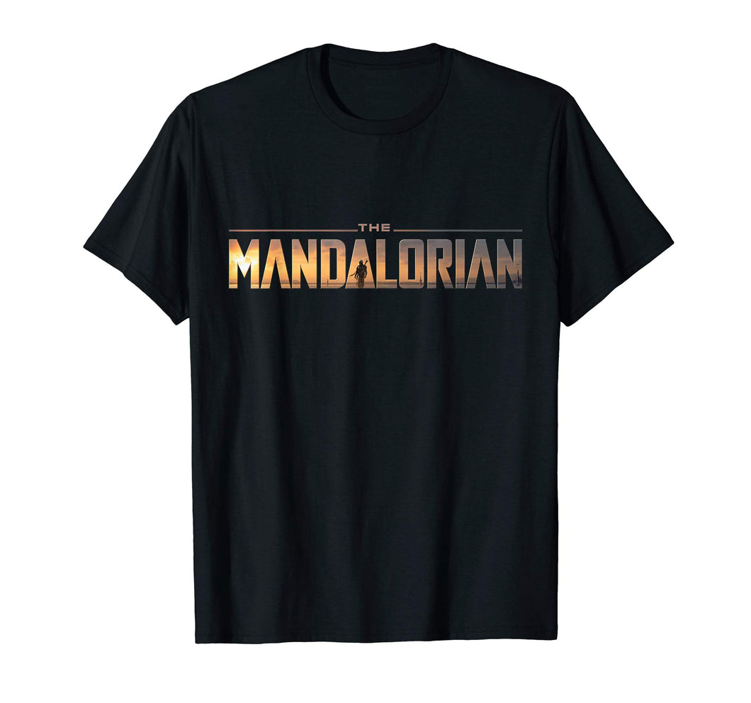 Star Wars The Mandalorian Series Logo T-Shirt