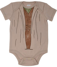 Load image into Gallery viewer, Yoda Baby Costume & Cap Set 12 Months