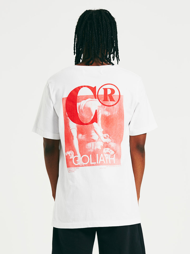 White Goliath R/F T-Shirt
