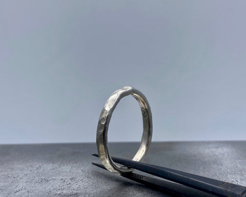 IRA'S RING STERLING SILVER 3 MM  WIDE