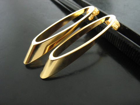 Baltic Earrings Nr. 1 - Yellow Gold