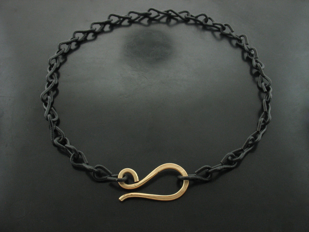 Black Chain with S Clasp