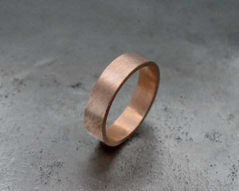 DIGBY'S RING ROSE GOLD 5mm WIDE