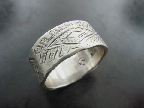Cilim Ring 2- Sterling Silver