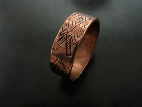 Cilim Ring - Red Bronze