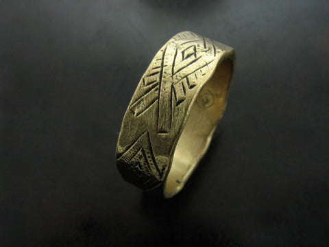 Cilim Ring - Yellow Bronze