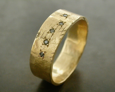 PASCAL'S RING YELLOW GOLD