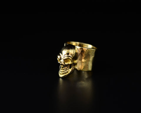 Skull Ring  - Yellow