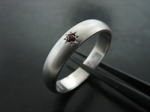 Danube with Ruby Star Ring