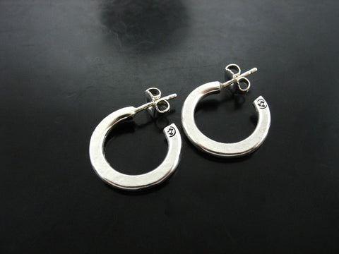 Flat Hand Forged Hoops
