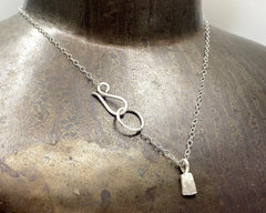 Forged Tag Necklace