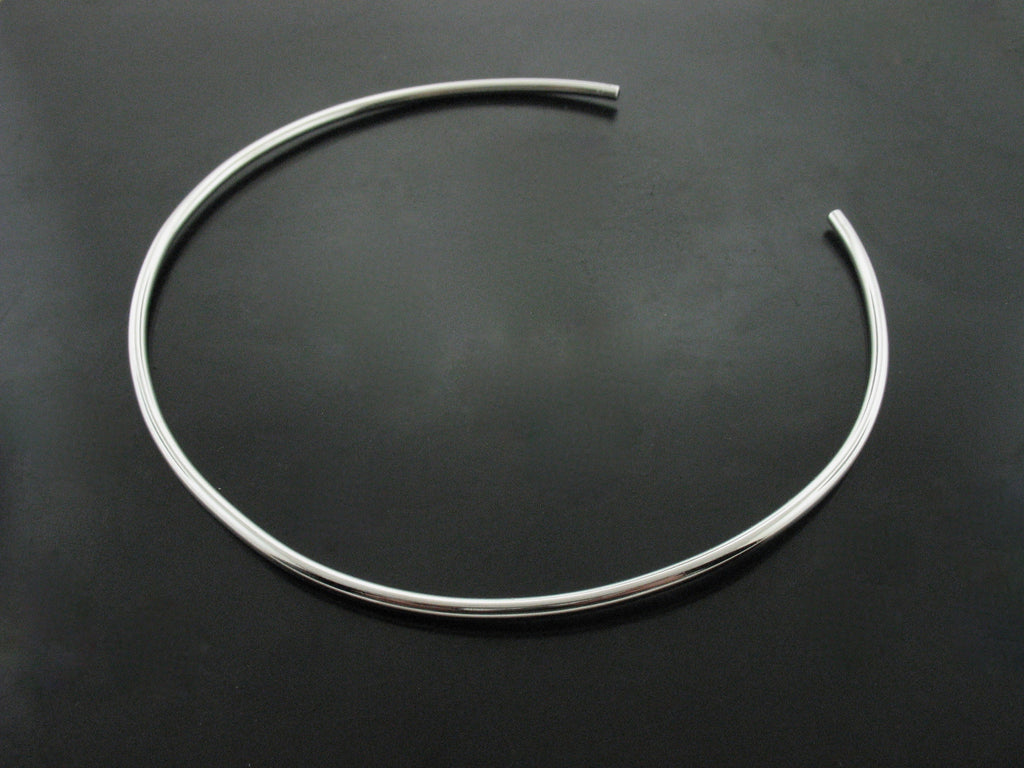 Number 80 Choker - White Gold
