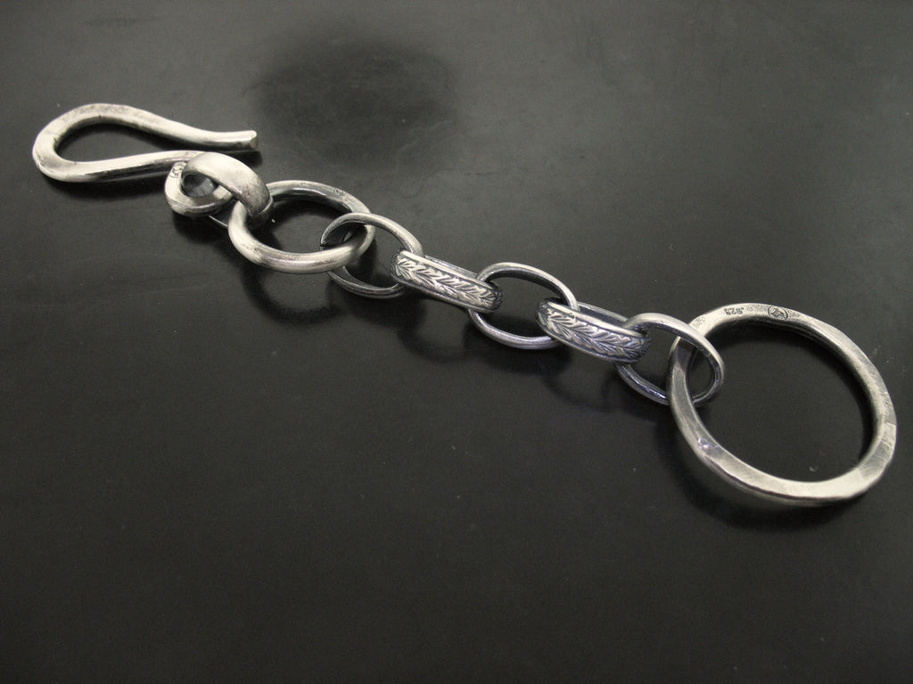 Mixed Link Keychain