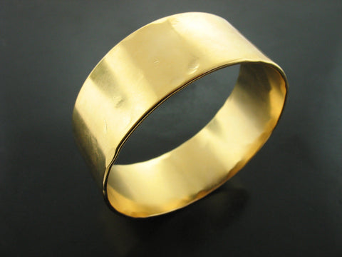 Baltic Sun Bangle Bracelet - Yellow Gold