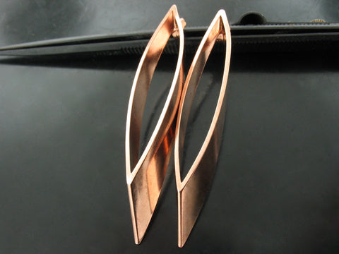 Baltic Earrings Nr. 2  - Rose Gold