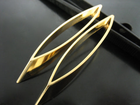 Baltic Earrings Nr. 2 -  Yellow Gold