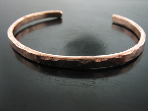 Baltic Hammered Cuff - Rose Gold
