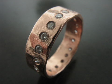 Vir Wedding Ring- Rose Gold