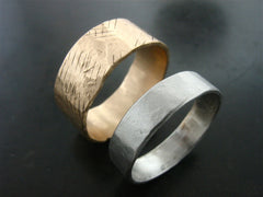 Adonis and Zeus Wedding Rings