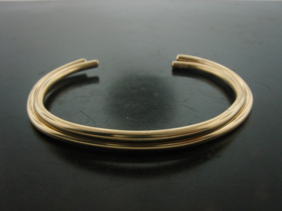Cuffs: Number 80, Yellow Gold