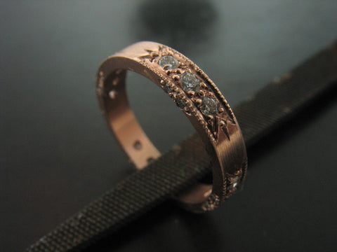 Larissa's Wedding Ring in Rose Gold