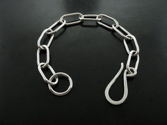 Zeus Bracelet - White Gold Dipped