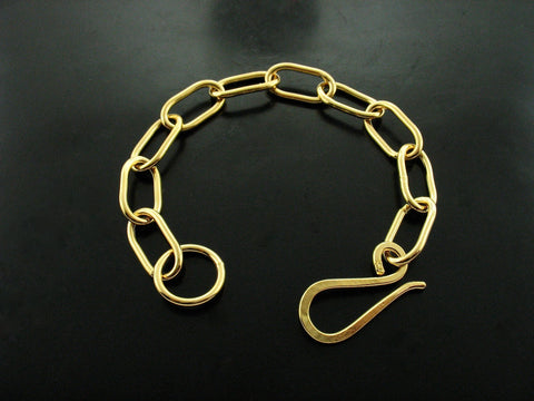 zeus bracelet - yellow gold