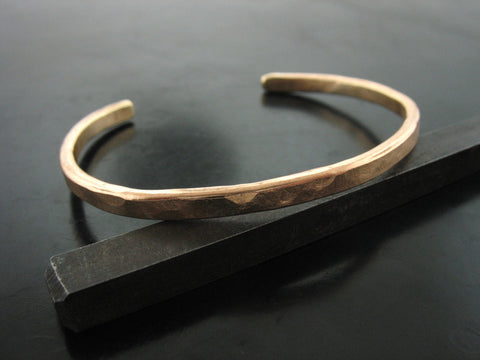 Hammered Cuff- Bronze
