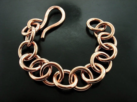 Baltic Uniform Link Bracelet - Rose Gold