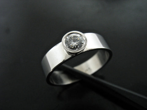 Lola's Engagement Ring- White Gold