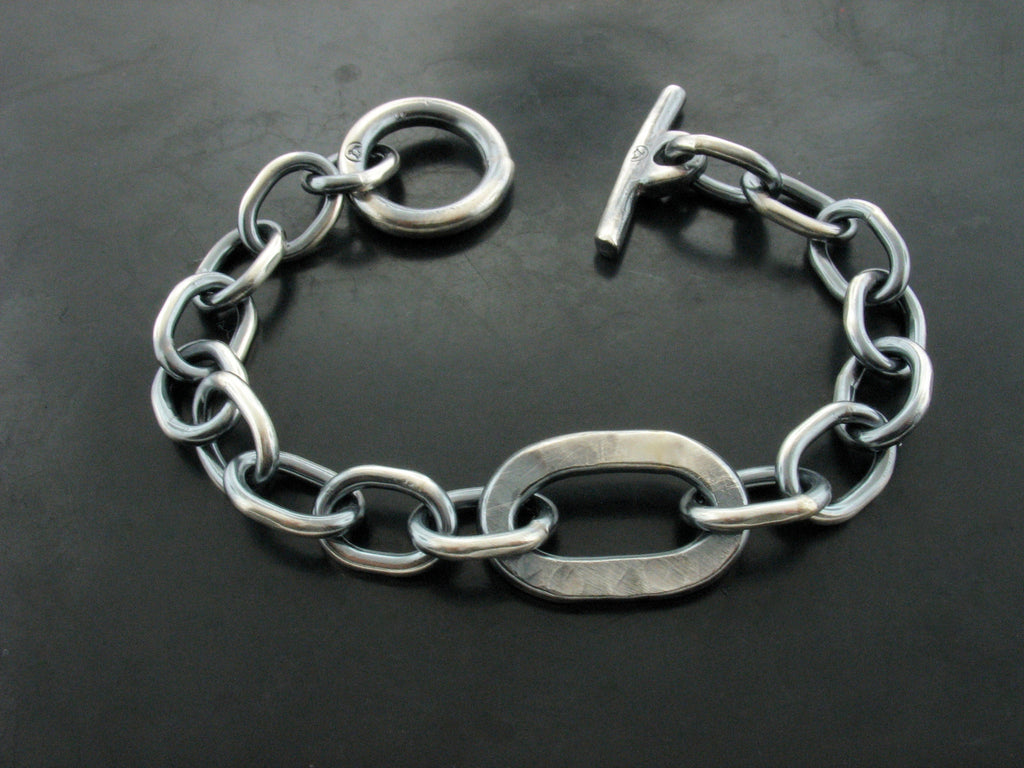 PITBULL MEETS ZEUS LINK BRACELET- MEN'S